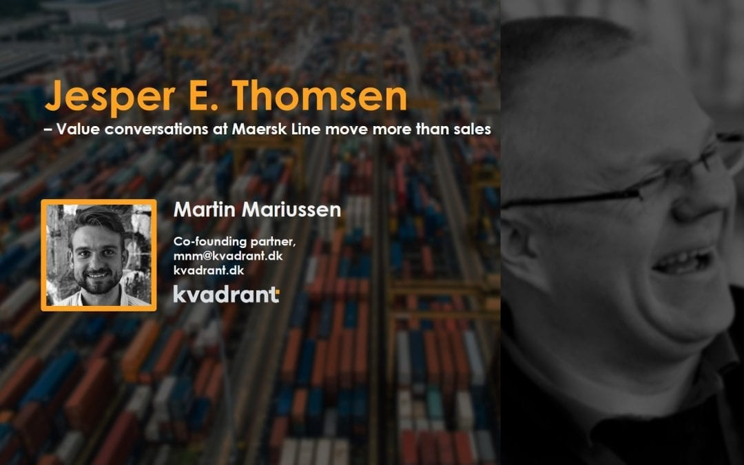 Expert Interview with Jesper Thomsen – Value conversations move more than sales