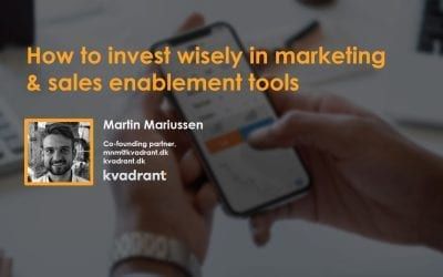 I'm sure you're investing wisely in Marketing and Sales Enablement tools (but 85% of your colleagues aren't…)