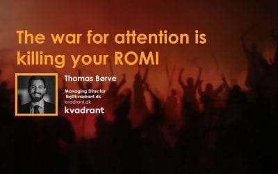 The war for attention is killing your ROMI