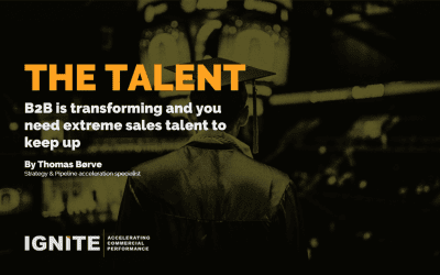 Are you building extreme sales talent at the right pace?